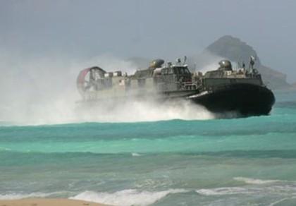Mỹ phô diễn kỹ năng đổ bộ trước quan chức quân đội nước ngoài