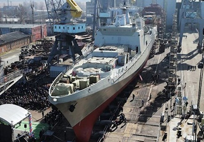 Ấn Độ - Nga có thể hợp tác chế tạo các tàu hộ tống hiện đại