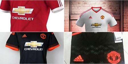 Rò rỉ áo đấu mới nhất của Manchester United