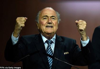 Sepp Blatter tái đắc cử chủ tịch FIFA lần thứ 5