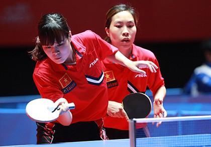 Bóng bàn Việt Nam ra quân thắng lợi tại SEA Games 28