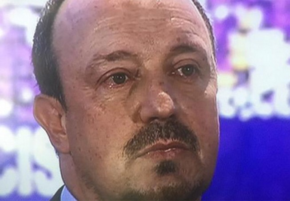 Benitez nước mắt lưng tròng trong ngày ra mắt tại Real