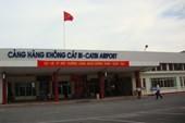 Sân bay Cát Bi bị sét đánh