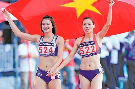 Điền kinh trắng tay ở cự ly 100m nữ: Cái bóng Vũ Thị Hương quá lớn