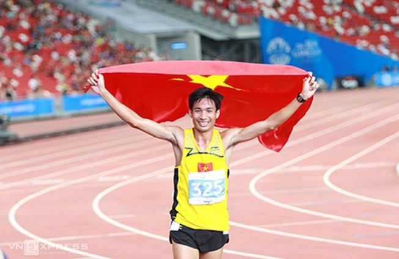Văn Lai phá kỷ lục SEA Games tồn tại 22 năm nội dung 5000 mét