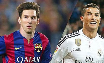 Messi được định giá gấp đôi Ronaldo