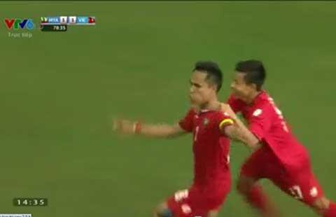 U23 Việt Nam - U23 Myanmar (1-2): U-23 Việt Nam lại lỡ hẹn