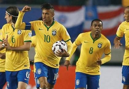 Neymar rực sáng, Brazil thắng chật vật