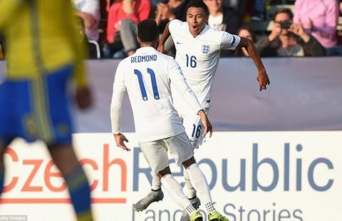 Sao trẻ M.U rực sáng, U21 Anh giành chiến thắng đầu tiên