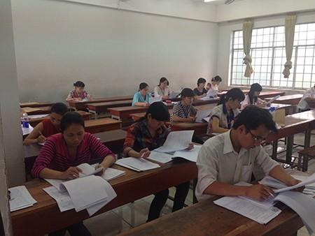 Các trường Đại học bắt đầu tăng tốc chấm bài thi