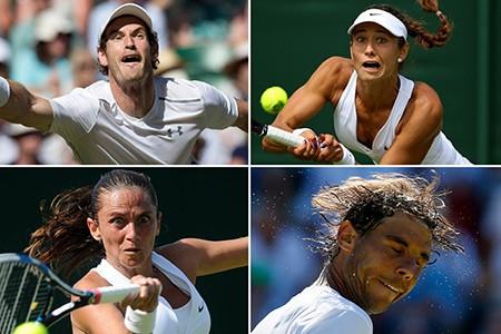 Những hình ảnh ấn tượng, hài hước tại Wimbledon