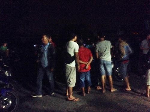Hiện trường bắt giữ nghi can vụ thảm sát Bình Phước