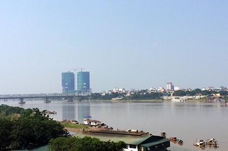 Phê duyệt nghiên cứu dự án siêu đô thị hai bên bờ sông Hồng