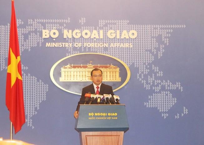 Bộ Ngoại giao lên tiếng về thông tin 'VN chuyển vũ khí về phía Tây Nam'