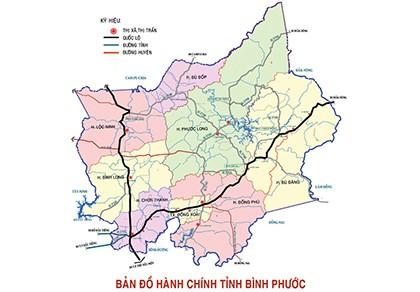 Bình Phước công bố thành lập huyện Phú Riềng