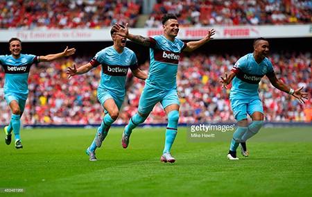 Asenal 0-2 West Ham: Pháo xịt, thua sốc ngày khai mạc