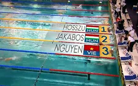 Ánh Viên giành HCĐ 400m hỗn hợp World Cup tại Paris
