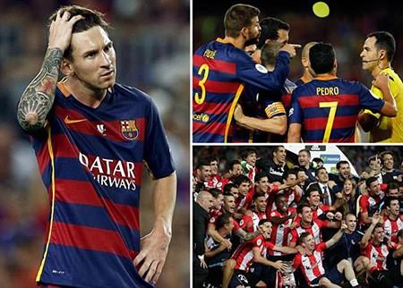 Barcelona 1-1 Bilbao: Vỡ mộng 'ăn 6'