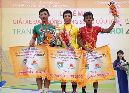Giải xe đạp ĐBSCL 2015: Thanh Nhân đoạt áo vàng chung cuộc
