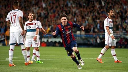 Xem bàn thắng đẹp nhất Châu Âu của Messi mùa 2014-2015