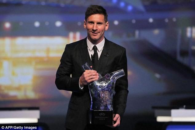 Đánh bại Suarez và Ronaldo, Messi xuất sắc nhất Châu Âu mùa 2014-2015