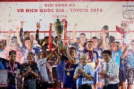 B.Bình Dương vô địch V-League: Thành quả từ lao động cật lực
