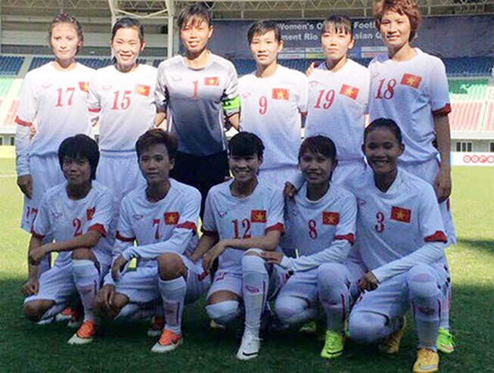 Myanmar hạ gục Đài Loan, nữ Việt Nam vào vòng loại cuối Olympic Rio 2016