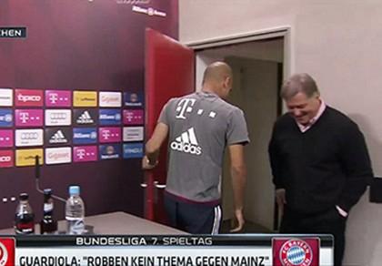 Guardiola rời khỏi cuộc họp báo vì tin đồn dẫn dắt tuyển Anh