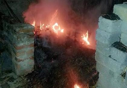 Xác định nguyên nhân căn nhà tự bốc cháy bí hiểm