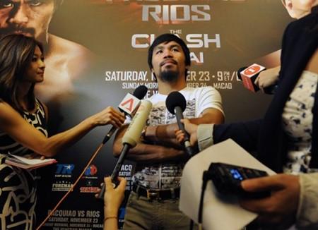 Many Pacquiao 'chạm trán' đối thủ cuối cùng trong sự nghiệp