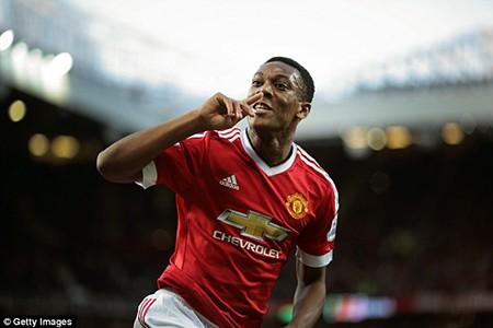 Premier League gọi tên tân binh M.U Anthony Martial