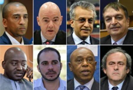 'Chốt' 8 ứng viên chức chủ tịch FIFA