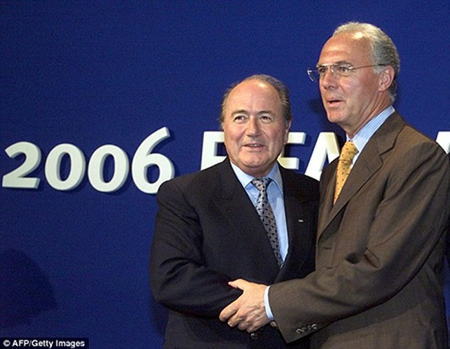 Nghi án Đức mua phiếu bầu World Cup 2006: 'Hoàng đế' nhận sai lầm