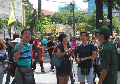 Khách Trung Quốc đến Việt Nam giảm