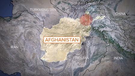 Taliban mời cứu trợ các nạn nhân động đất