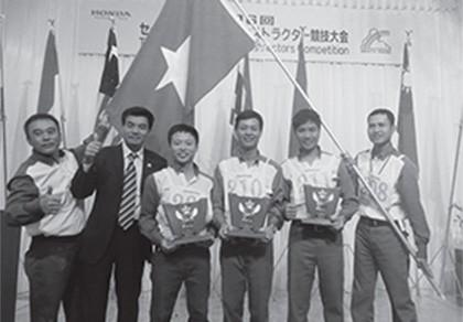Honda Việt Nam đoạt hai giải nhất về lái xe an toàn quốc tế