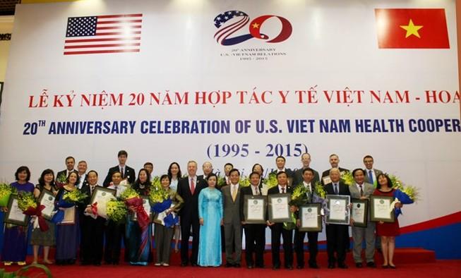 20 năm hợp tác y tế Việt Nam - Hoa Kỳ