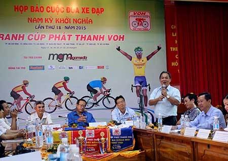 Cuộc đua xe đạp Nam Kỳ Khởi Nghĩa lần thứ 18 năm 2015