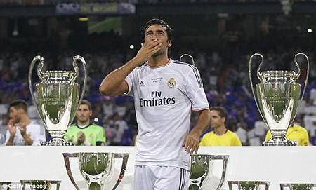 Tạm biệt 'chúa nhẫn' Raul Gonzalez