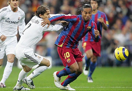 Ronaldinho bị Real Madrid từ chối vì quá… xấu