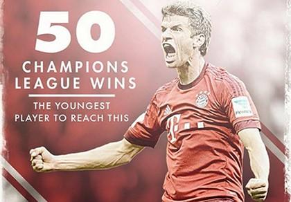 Kỷ lục mới của Champions League gọi tên Thomas Muller