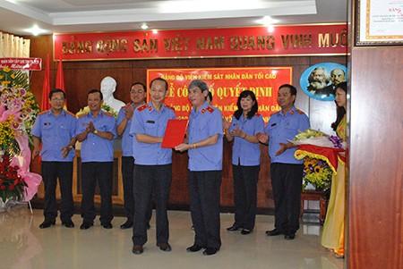 Ông Nguyễn Thanh Sơn làm bí thư Đảng ủy Viện Cấp cao 3