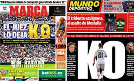 Đá thắng, Real Madrid vẫn bị loại khỏi Cúp nhà vua