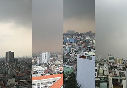 Vì sao Sài Gòn sáng nay chìm trong sương mờ?