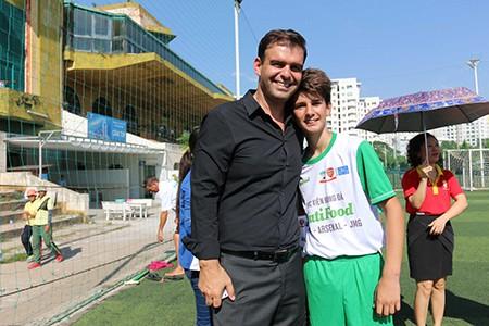 Tài năng trẻ của Úc thi vào Học viện bóng đá NutiFood