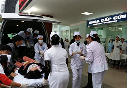 Vừa khai trương bếp ăn, hàng ngàn công nhân đã ngộ độc nhập viện