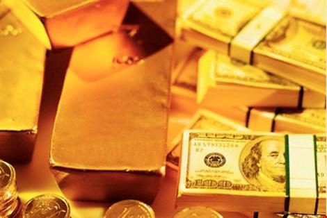 Giá vàng và đô la cùng tăng mạnh