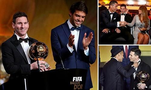 Messi lần thứ 5 giành Quả bóng vàng FIFA 2015, hụt giải Puskas