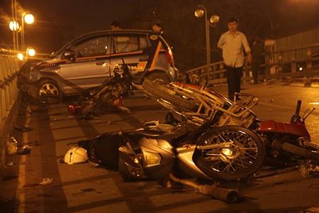 Cứ một giờ lại có một người chết vì tai nạn giao thông