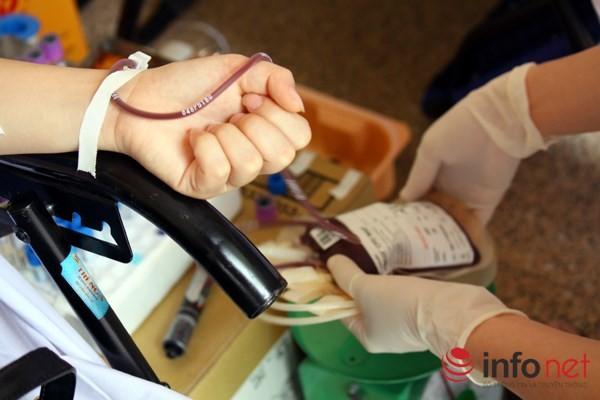 TP.HCM huy động 200.000 lượt người hiến máu trong năm 2016